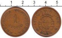 Изображение Монеты Мозамбик 1 эскудо 1974 Медь