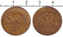 Изображение Монеты ЮАР 2 цента 1984 Медь