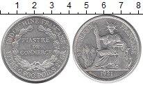 Изображение Монеты Индокитай 1 пиастр 1921 Серебро XF Французский протекто