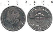 Изображение Монеты Германия ФРГ 5 марок 1982 Медно-никель XF