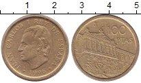 Изображение Монеты Испания 100 песет 1996 Медь XF