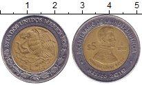Изображение Монеты Мексика 5 песо 2008 Биметалл XF