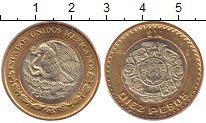 Изображение Монеты Мексика 10 песо 2006 Биметалл XF Штаты  Мексики.