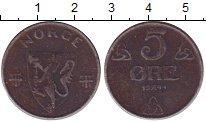 Изображение Монеты Норвегия 5 эре 1941 Железо VF