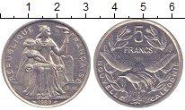 Изображение Монеты Новая Каледония 5 франков 1989 Алюминий XF