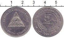 Изображение Монеты Никарагуа 5 кордоба 2007 Медно-никель XF