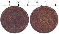 Изображение Монеты Новая Зеландия 1 пенни 1959 Медь XF