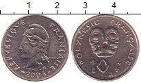 Изображение Монеты Полинезия 10 франков 2004 Медно-никель XF