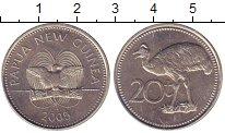 Изображение Монеты Папуа-Новая Гвинея 20 тоа 2005 Медно-никель UNC-