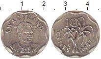Изображение Монеты Свазиленд 10 центов 2007 Медно-никель XF