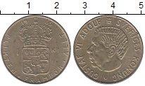 Изображение Монеты Швеция 1 крона 1965 Медно-никель XF
