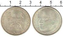 Изображение Монеты Германия ФРГ 5 марок 1978 Серебро UNC-