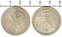 Изображение Монеты ФРГ 5 марок 1978 Серебро UNC-
