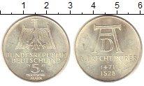 Изображение Монеты Германия ФРГ 5 марок 1971 Серебро UNC-