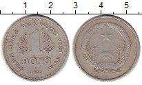 Изображение Монеты Вьетнам 1 донг 1976 Алюминий VF