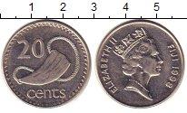 Изображение Монеты Фиджи 20 центов 1998 Медно-никель XF