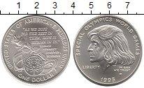 Изображение Монеты США 1 доллар 1995 Серебро UNC