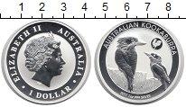 Изображение Монеты Австралия 1 доллар 2017 Серебро Proof