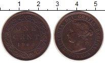 Изображение Монеты Канада 1 цент 1901 Бронза XF