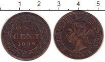 Изображение Монеты Канада 1 цент 1896 Бронза XF