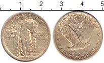 Изображение Монеты США 1/4 доллара 1924 Серебро XF