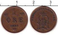 Изображение Монеты Швеция 1 эре 1897 Бронза XF