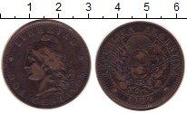 Изображение Монеты Аргентина 2 сентаво 1889 Бронза VF