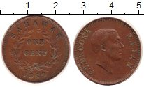 Изображение Монеты Саравак 1 цент 1929 Медь XF