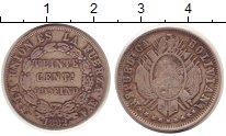 Изображение Монеты Боливия 20 сентаво 1882 Серебро XF