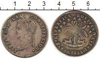 Изображение Монеты Боливия 4 соля 1858 Серебро VF
