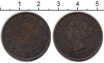 Изображение Монеты Канада 1 цент 1859 Медь VF