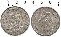 Изображение Монеты Мексика 1 песо 1957 Серебро XF