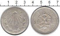 Изображение Монеты Мексика 1 песо 1940 Серебро XF