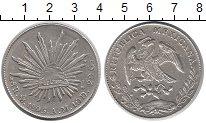 Изображение Монеты Мексика 8 реалов 1895 Серебро XF