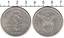 Изображение Монеты Филиппины 1 песо 1908 Серебро XF