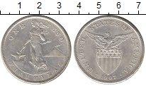Изображение Монеты Филиппины 1 песо 1907 Серебро XF Американская  админи