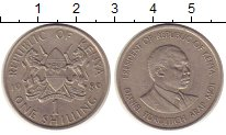 Изображение Монеты Кения 1 шиллинг 1989 Медно-никель XF