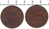 Изображение Монеты США 1 цент 1837 Медь XF- Токен.