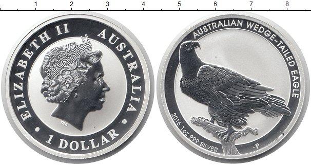 Австралийский доллар серебро цена полушка 1735 года