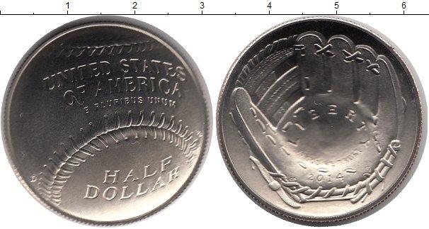 Купить медно-никелевую монету америки недорого 1/2 доллара 2.