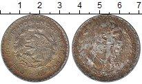 Изображение Монеты Мексика 1 песо 1954 Серебро XF+