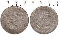 Изображение Монеты Мексика 1 песо 1963 Серебро XF+