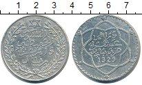 Изображение Монеты Марокко 1 риал 1911 Серебро UNC-