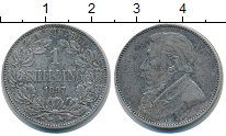 Изображение Монеты ЮАР 1 шиллинг 1897 Серебро XF-