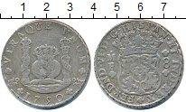 Изображение Монеты Мексика 8 реалов 1750 Серебро VF
