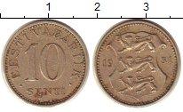Изображение Монеты Эстония 10 сенти 1931 Медно-никель XF