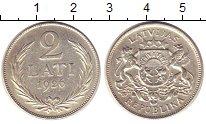 Изображение Монеты Латвия Латвия 1926 Серебро XF