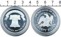 Изображение Мелочь США 1 унция 2000 Серебро UNC