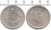 Изображение Монеты Индия 1 рупия 1945 Серебро XF Георг VI.