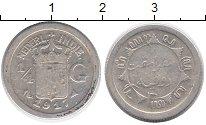 Изображение Монеты Нидерландская Индия 1/4 гульдена 1917 Серебро VF